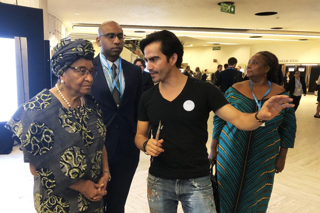 Former President of LiberiaEllen Sirleaf